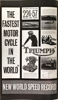British Motorcycles, Triumph Motorcycles, Custom Motorcycles, Motorcycle Posters, Motorcycle Gear, Triumph Bonneville, Bobbers, Motorbikes, Tanks