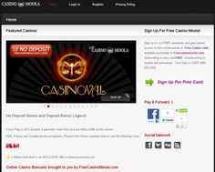Sign up to our FREE newsletter and gain instant access to tens of thousands of  Free Casino cash, available exclusively to Freecasinomoola.com.