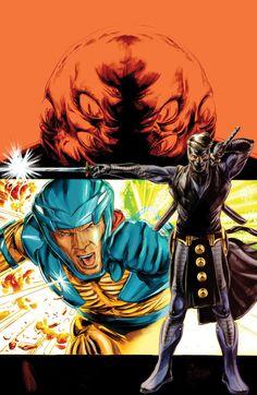 Doug Braitwaite - X-O Manowar and Ninjak