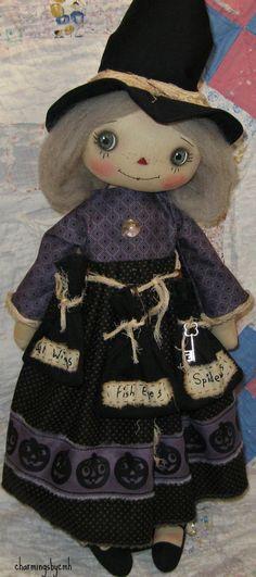 cloth dolls by charmingsbycmh