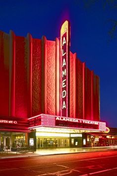 Alameda movie palace, Alameda CA, built in  1932, renovated in 2008.