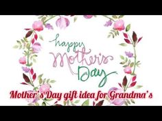 Easy and lovely photo idea for Mother's Day Deco, Mother Day Gifts, Photo Gifts, Make It Yourself, Gift Ideas, Videos, Happy, Youtube, Blog