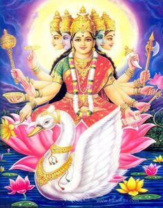 Goddess Gayatri - Sri Gayatri Dhyanam