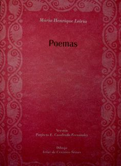 Poemas / Mário Henrique Leiria ; versión Perfecto E. Cuadrado Fernández ; dibujo Artur de Cruzeiro Seixas - [Badajoz] : [Diputación Provincial, Departamento de Publicaciones], [1995]