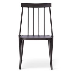 • Made of powder-coated steel<br>• Weather resistant<br>• No assembly needed<br><br>Outfit your patio dining table with the Windsor Metal Stack Club Chair from Threshold. This outdoor patio chair has a traditional, classic look to extend your style out of doors.