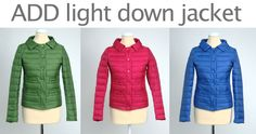 ADD down jacket in three different colours.. now ON SALE http://www.deifashionstore.com/catalogsearch/result/?q=add