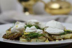 [genussvoll vegetarisch] Karamellisierter Fenchel mit Ziegenquark | Foodina