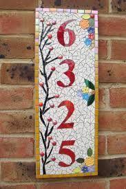Resultado de imagen para mosaic house number