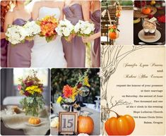 fall wedding ideas / without the pumpkins
