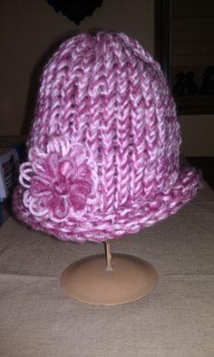 My crocheted hat.