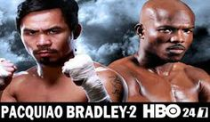 Pacquiao vs. Bradley II set for April 12 Live On HBO PPV