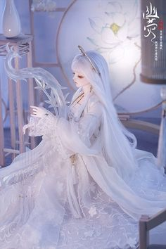 Beautiful Barbie Dolls, Pretty Dolls, Pretty Anime Girl, Anime Art Girl, Anime Dolls, Bjd Dolls, Fairy Dolls, Chica Fantasy, Chinese Dolls