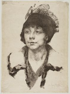 Philadelphia Museum of Art - Collections Object : Girl's Head George Biddle, American, 1885 - 1973