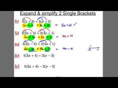 GCSE Revision Video 4 - Expanding 2 single brackets - YouTube Expand And Simplify, Gcse Revision, Video 4, Algebra, Maths, Homework, Education, School, Youtube