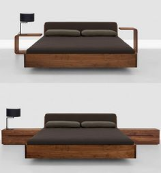 like the floating concept.. and clean lines of the wood