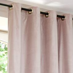 Samt Vorhang Altrosa 140 X 300 Cm Rosa Vorhänge, Vorhänge Wohnzimmer,  Badezimmer,