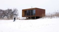 My love for prefab started with this Weehouse...