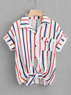 Cheap shirt women shirt, Buy Quality women shirts directly from China shirt women Suppliers: blusas mujer de moda 2019 Women's Blouse Button pocket Stripe Short Sleeve Shirt Womens Tops And Blouses Women kimono Loose Shirts, Shirts & Tops, Printed Shirts, Casual Tops, Casual Shirts, Shirt Bluse, Shirt Cuff, Collar Shirts, Blouses For Women