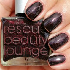 "via #KellieGonzo; Rescue Beauty Lounge's ""Black Russian""."
