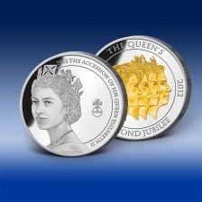 "Ražba "" Accession - 1952 Nástup na trůn "" Elizabeth Ii, England, Coins, Personalized Items, Diamond, Diamonds, English"
