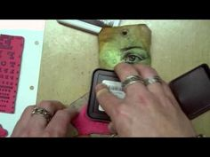 Stamptember™ 2012 with Tim Holtz; this is a really good video of Tim Holtz making one of his tags; it shows the different techniques he uses to get the different background effects/looks...