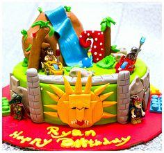 Legend of Chima Birthday Cake