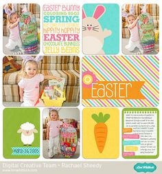 NEW at Snap Click Supply: Easter Friends Life Cards