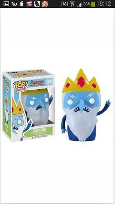 Adventure time- ice king pop doll
