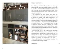 Fabri's ID collection in the latest issue of Habitat magazine, South African edition. #FabriDesignAttitude