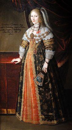 1643 Henriette Luise von Württemberg by Benjamin Block (Plassenburg in Kulmbach - Kulmbach, Bayern Germany)