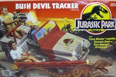 Check out the deal on Jurassic Park - Bush Devil Tracker Jeep Vehicle (MISB)C8.5-9 at Action Toys and Collectables