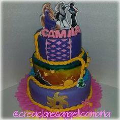 Enredados. Princess cake