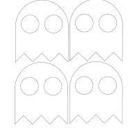 Marrispe Artesanato: Chaveiros Pac-Man Pac Man, Silicone Molds, Diy, Symbols, Letters, Halloween, Painting, Google, Key Hangers