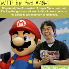 The creator of Mario and Donkey Kong - WTF fun facts