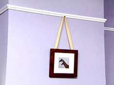 Weekend Project: How to Hang Picture Railing : Decorating : Home & Garden Television