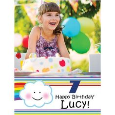 Rainbow Fun Personalized Poster