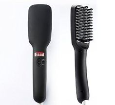 WinTech Hair Straightener Brush, Anion Instant Magic Silky Straight Hair Styling, Anti Scald Anti Static Ceramic Heating Detangling Hair (Black): Amazon.co.uk: Beauty