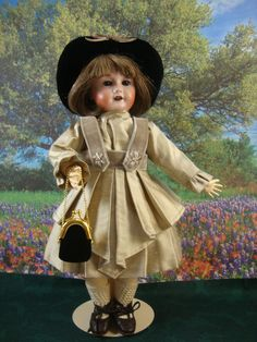 Bleuette Pattern Graciosa Dress and Hat - Bleuette And More ~ Patterns for Bleuette and Friends