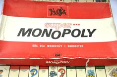 Polish Monopoly Board Game. Vintage Board Game. by RustyCurios