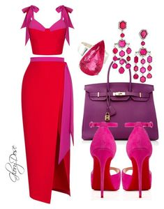 vore featuring Rasario, Hermès, Christian Louboutin, Ivy and Gemjunky Classy Dress, Classy Outfits, Stylish Outfits, Vetement Fashion, Looks Chic, Christian Louboutin, Mode Inspiration, Mode Style, African Fashion