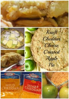 A classic apple pie with a twist, a Kraft Cheese crust! http://madamedeals.com/apple-pie-with-cheddar-cheese-crust-recipe/ #inspireothers #Apple #Pie #Kraft