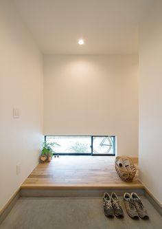 リビングに開放的な吹き抜けのある箱舟テイストの家・間取り(茨城県守谷市) | 注文住宅なら建築設計事務所 フリーダムアーキテクツデザイン