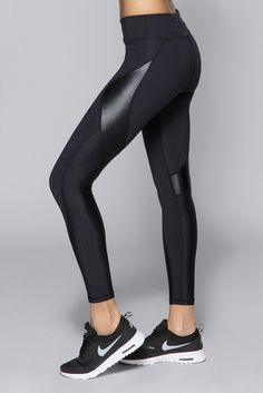 EDGE ANKLE TIGHT - Embossed Check