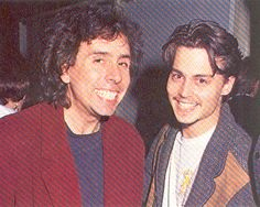 Tim Burton and Johnny Depp... it really doesn't get any better <3 <3