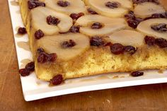 Move over, pineapple—pears are having a moment. Turn a packaged cake mix into a pound cake-like confection featuring pumpkin spice and cranberries (and pears, of course!).  Our Pear Upside-Down Cake is a must-try recipe!