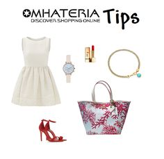 Chic  summer  outfit whit our  Blugirl  handbags ! Abiti Estivi Eleganti 958b7f23d9f
