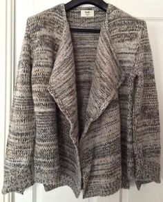 HUSH-grey-waterfall-cardigan | Style file | Pinterest | What to ...