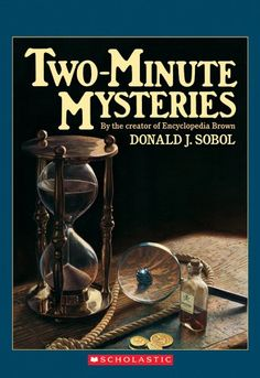 Two-Minute Mysteries (Apple Paperbacks) by Donald J. Sobol http://www.amazon.com/dp/0590447874/ref=cm_sw_r_pi_dp_xMGiwb12Q9M7V
