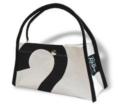 Recycled Sailcloth Evening Bag