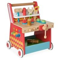 ELC - Wooden Activity Workbench - Interactive Toys - Toys | Baby Bunting